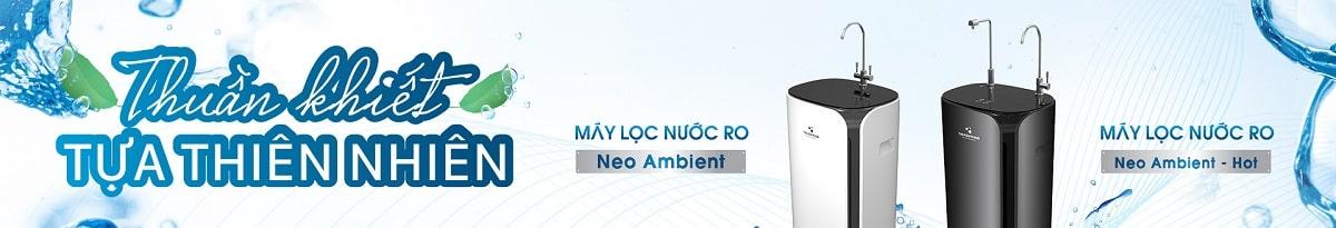 Banner Danh mục Máy lọc nước