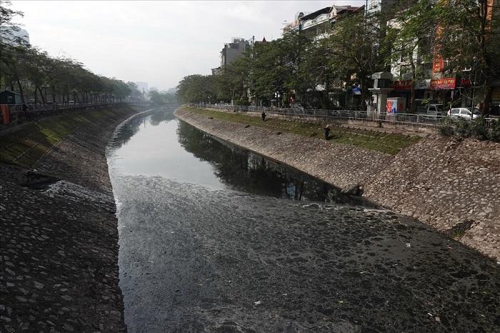 Ô nhiễm nguồn nước tại Hà Nội