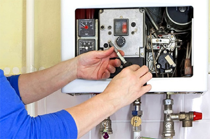 Bình nóng lạnh không vào điện