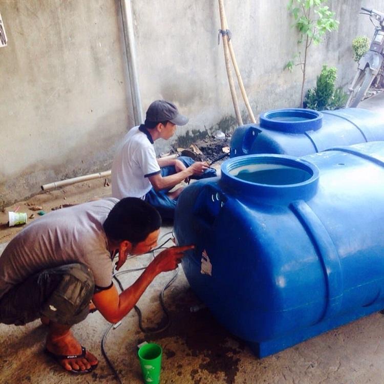 Thường xuyên vệ sinh, bảo dưỡng định kỳ bồn nước