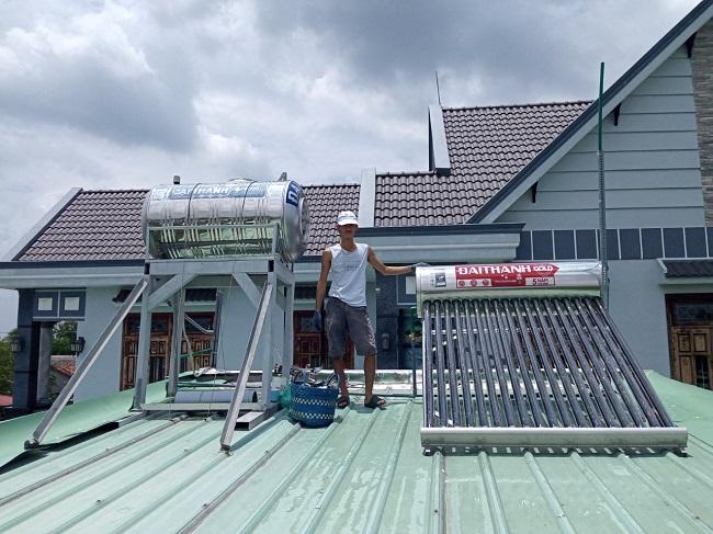 xác định dung tích máy nước nóng năng lượng mặt trời
