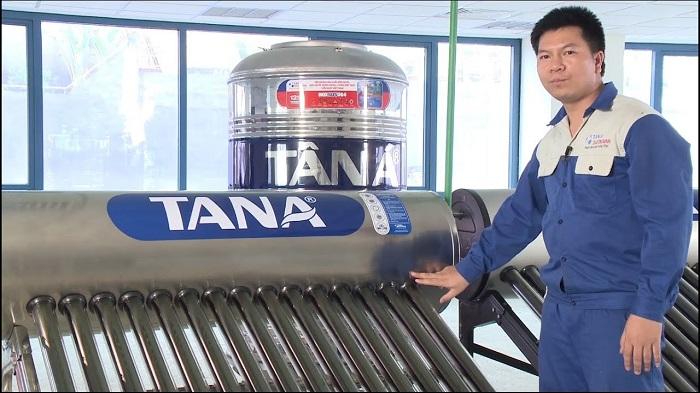 Máy nước nóng năng lượng mặt trời tiết kiệm điện năng