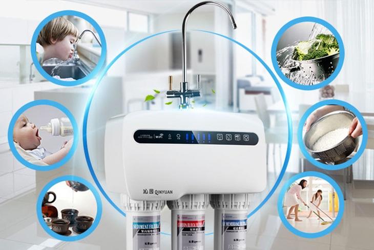 Thường xuyên kiểm tra tình trạng hoạt động của máy lọc nước