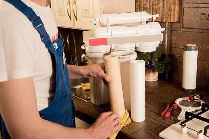 Nguyên lý hoạt động của máy lọc nước không thải