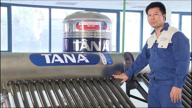 Máy nước nóng năng lượng mặt trời công nghệ tiên tiến
