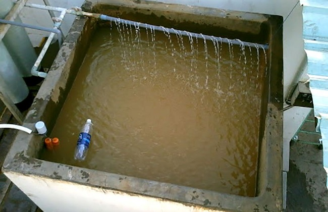 Lọc nước giếng khoan bằng cát