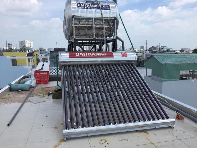 Lưu ý khi lắp đặt máy bơm tăng áp cho máy nước nóng năng lượng mặt trời
