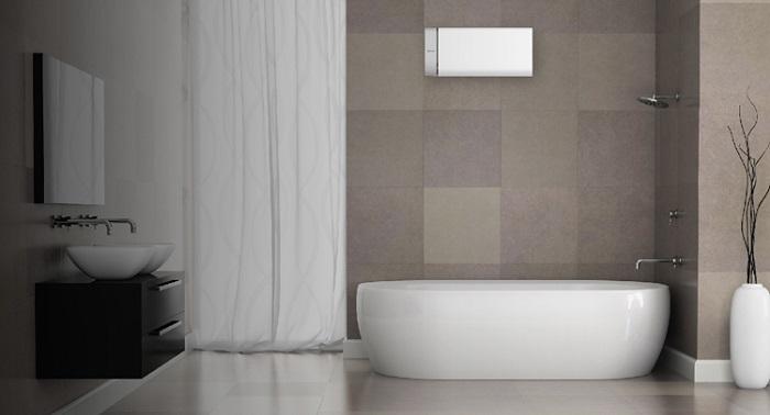 Lựa chọn bình nước nóng cho không gian phòng tắm