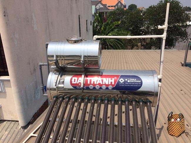 Lưu ý khi sử dụng bình phụ máy nước nóng năng lượng mặt trời