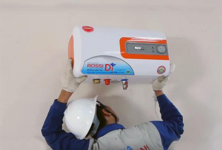 Sử dụng bình nước nóng Rossi