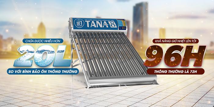 Máy nước nóng năng lượng mặt trời Tân Á 8