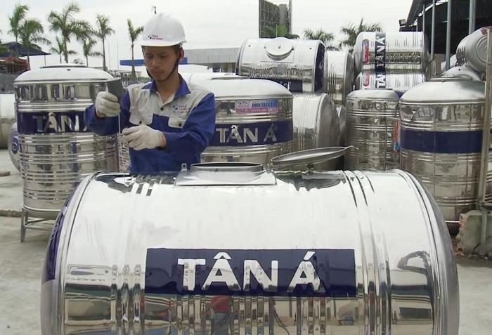 Hướng dẫn lắp đặt và sử dụng Bồn nước Inox Tân Á Đại Thành