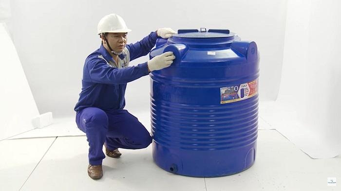 Hướng dẫn lắp đặt và sử dụng Bồn nước Nhựa Tân Á Đại Thành