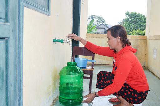 Nguồn nước sinh hoạt cần đảm bảo an toàn