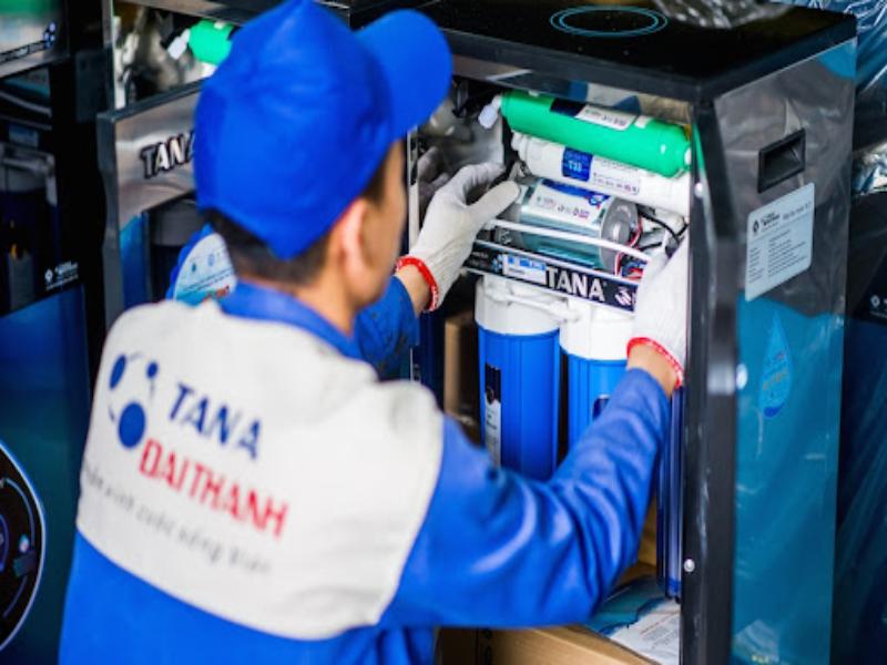 Hệ thống lọc nước RO ứng dụng rộng rãi trong đời sống và sản xuất