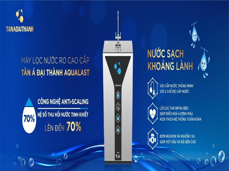 Máy lọc nước RO từ Tân Á Đại Thành - Sự lựa chọn hàng đầu của người Việt